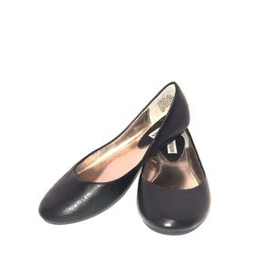Heaven Leather Ballet flats